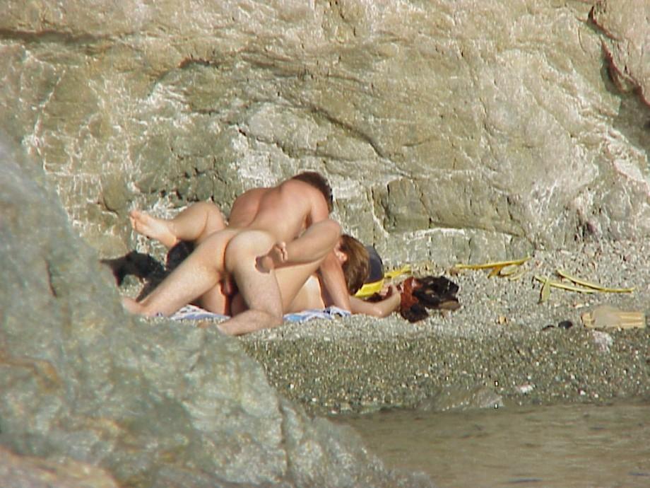 beach Feet couples nude at