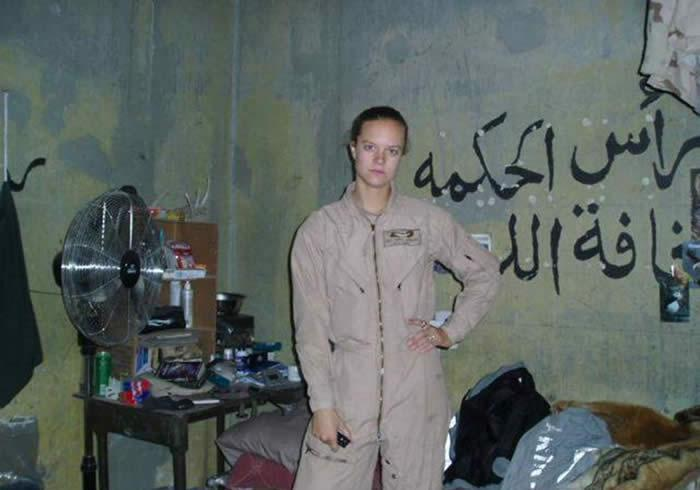 Does Sexy army girl in iraq from west virginia