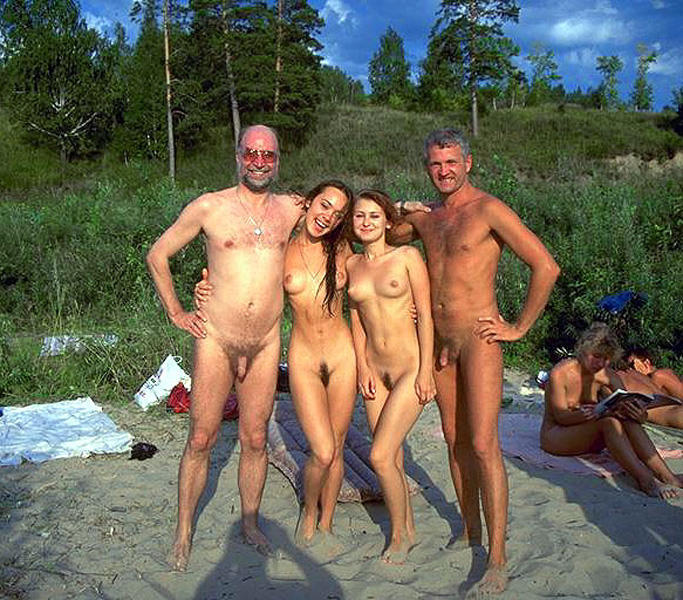 interacial nudists