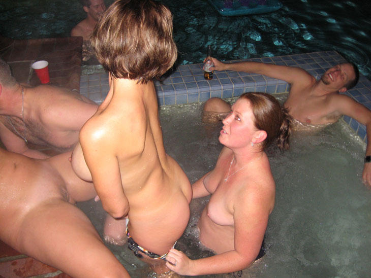 Opinion you Amatuer naked pool parties from