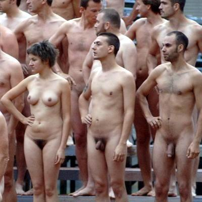 Sorry, spencer tunick group nudes piece think