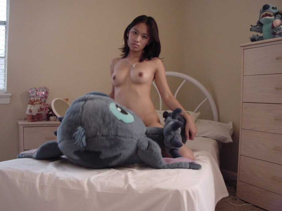 with Girls animals sex stuffed