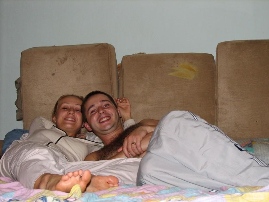 частное фото молодых семейных пар