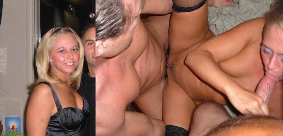 Sexy three boobed woman