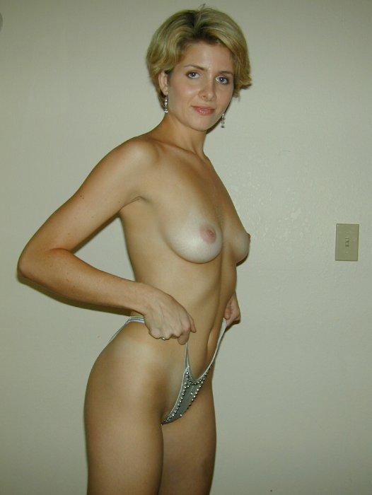 Blondine MILF
