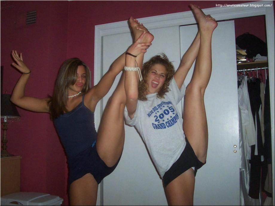Girls gymnastics legs spread nn