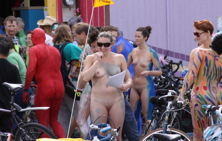 Nude parade pics