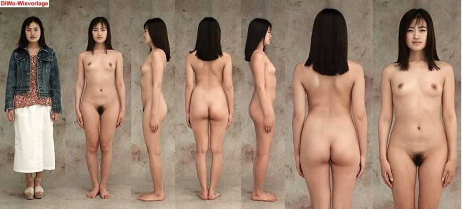 Lucky asian girls undressed Most talented