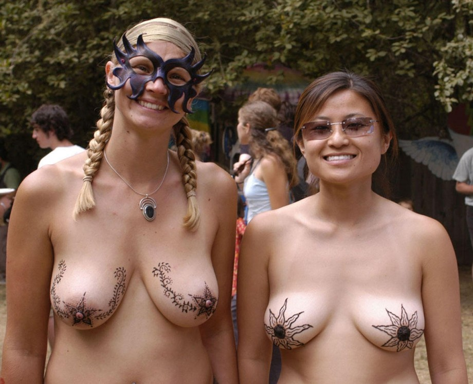 Nude group girls big tits