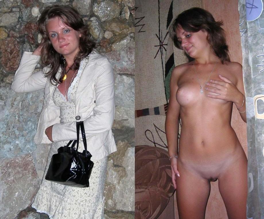 Undressed exposed dressed