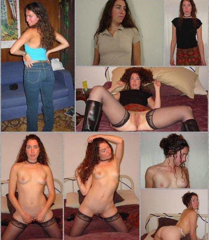 wife dressed undressed Amateur