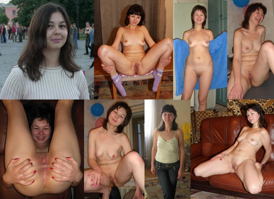 wives dressed and undressed Amateur