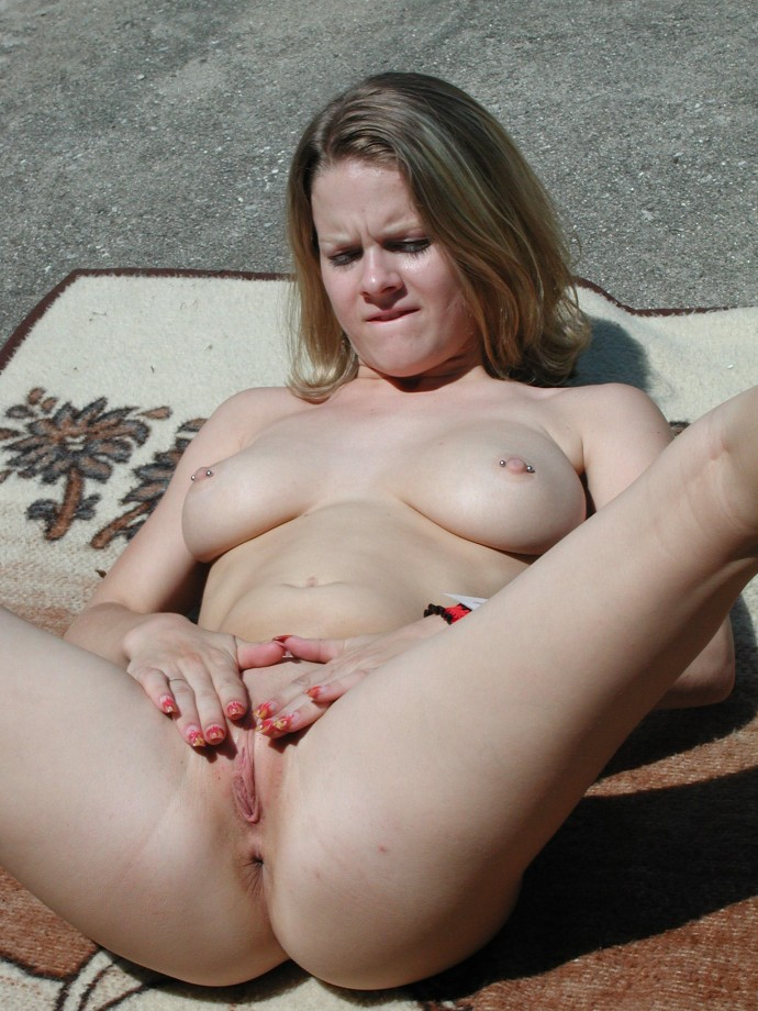 Spread legs competition nude