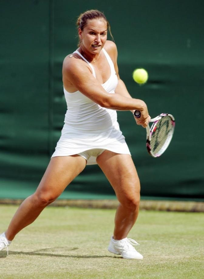 Tits, hair free tennis upskirt sites her