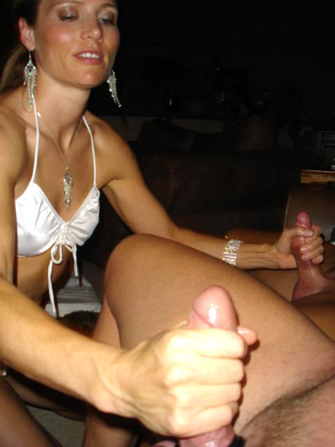 Nasty Amateur Girls Enjoying Two Cocks.