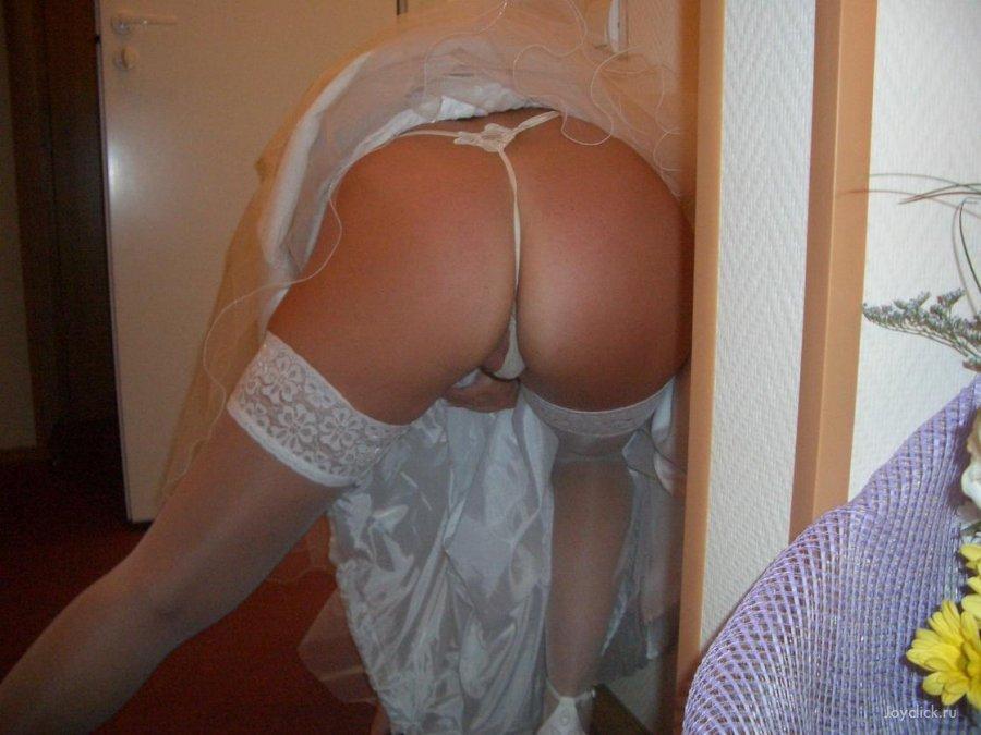 Порно трусики невесты