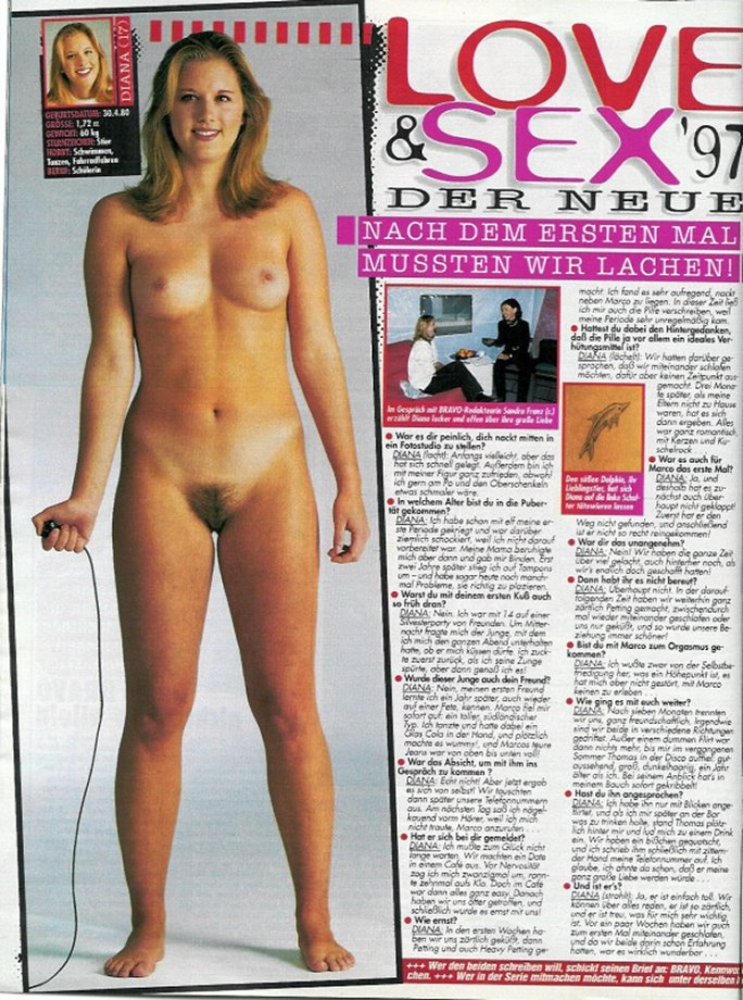 Bravo Magazine Naked Teen Porno Photo