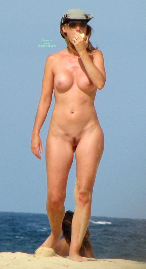 Women naked waist down bottomless