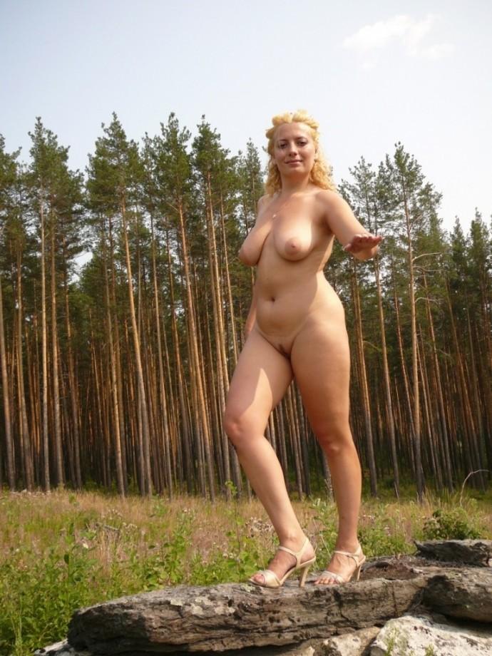Naked Amateur Russian Outdoors TheHun 1