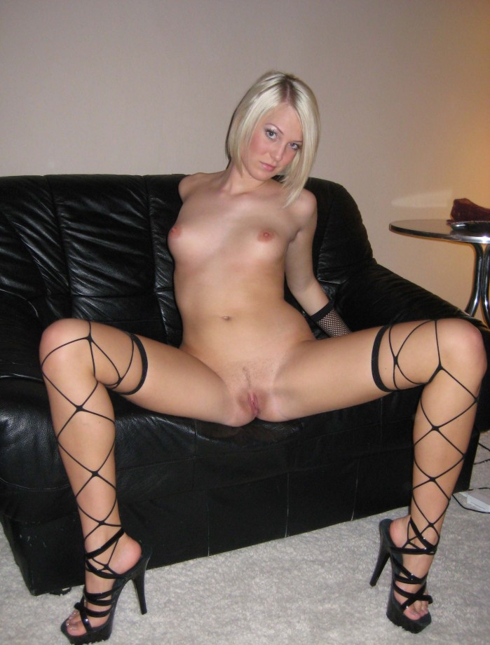 Gallery: Laura - amateur leggy blonde in undies and nude | Picture ...