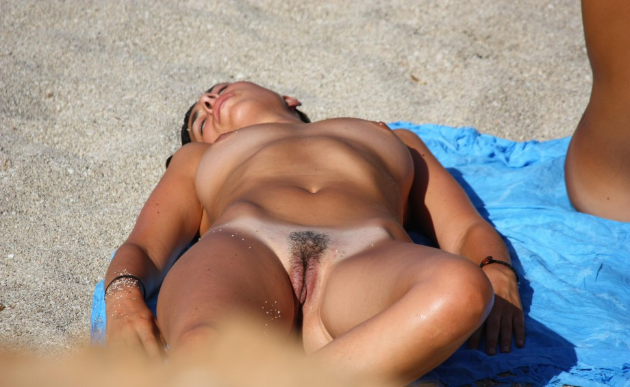Amateur girls on beach 06
