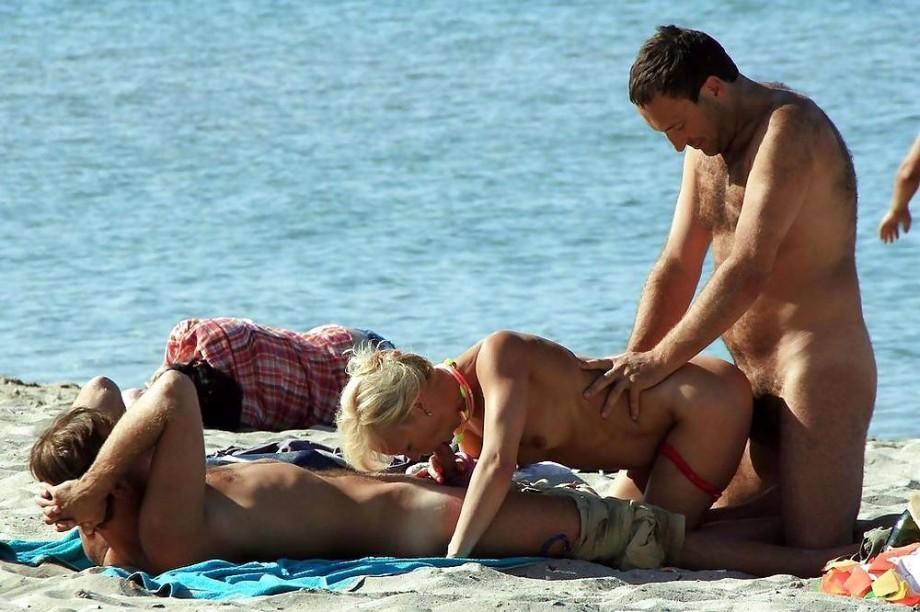 секс отдых на пляже фото