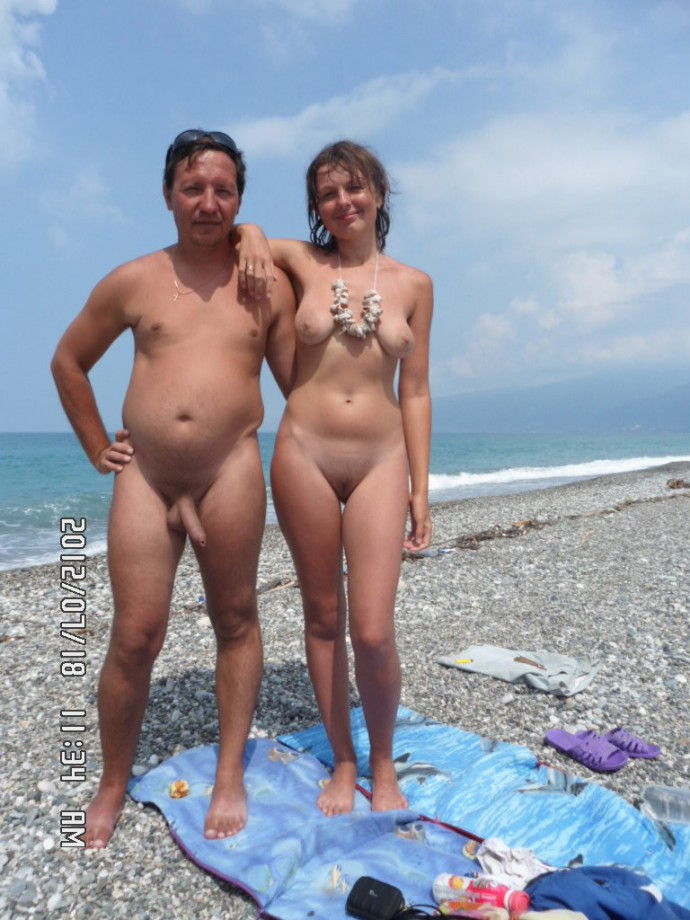 Are not Father and daughter at nude beach together opinion you