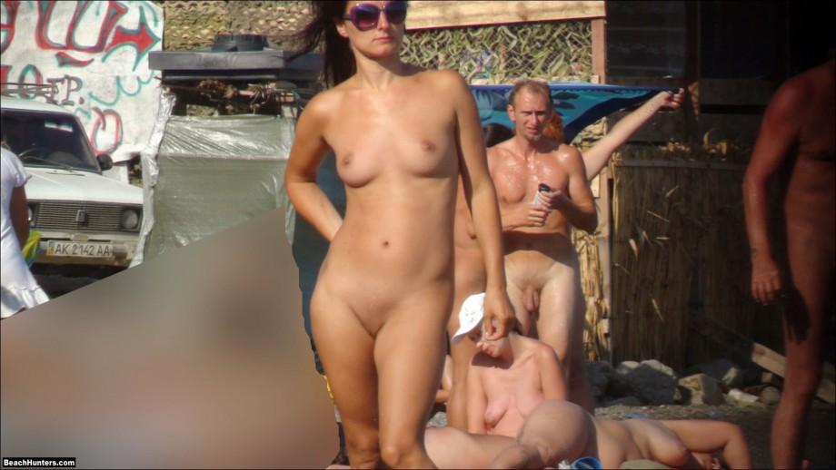 Секс порно нудисты пляж великобритания
