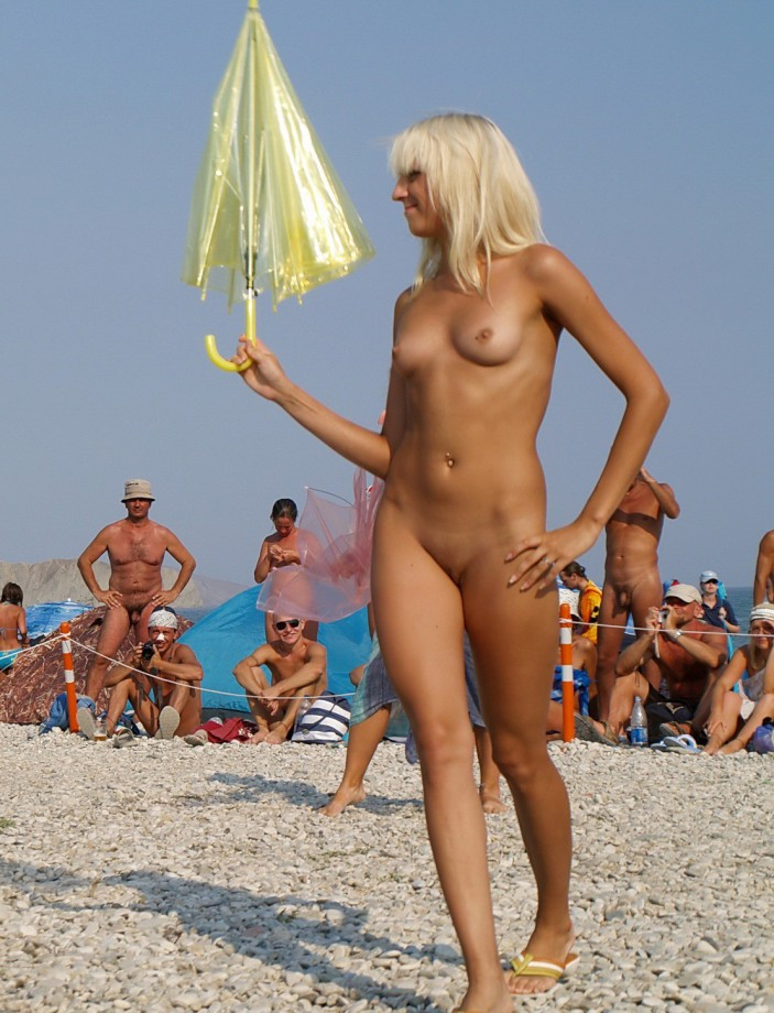 Usual Junior nude beach pussy for