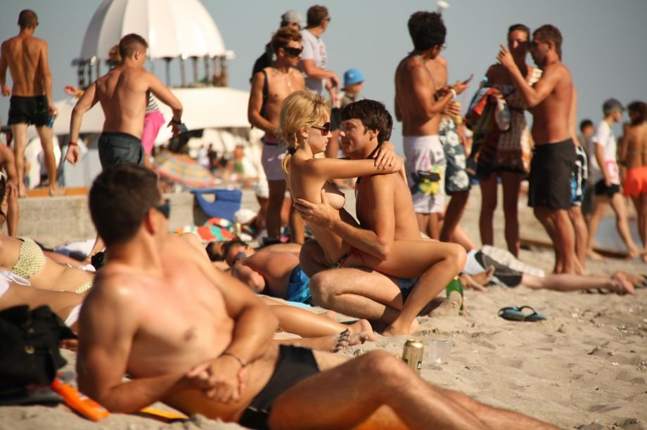 Girls at nudist beaches