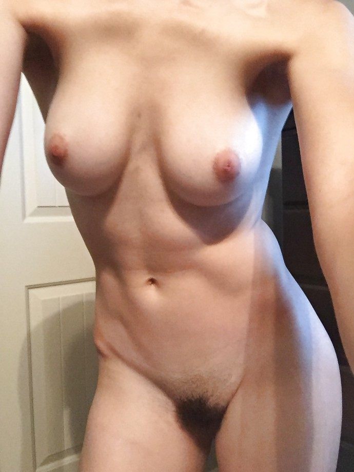 Young girl with sexy fit body