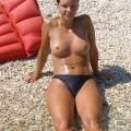Beach amateurs topless - young girls no.08
