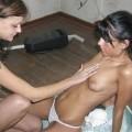 Pikotop - brunette amateur lesbians