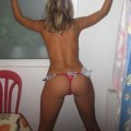 Sexy teen girlfriend poses