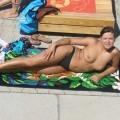 Girlfriend at beach