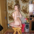 Cute russian girl gets fucked