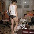 Janina - amateur teen in her undies