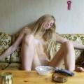 Beautiful skinny russian blonde serie 79