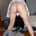 Amateur slut shows her wet cunt 9