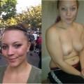 Stolen topless photo