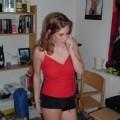 Busty girl posing - redhead serie 27