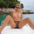 Horny amateur babe 7