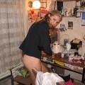 Hot blonde amateur babe 7