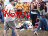 Summer Festival and crazy teenagers