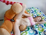 Thumb for Young girls loves furry teddy bear and others