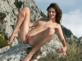 Nude girls in the mountains