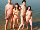 Nudist Couples Want Sex on beach