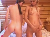 Thumb for Two 18yo teens licking for the first time