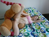 Thumb for Blowjob and sex with her teddy bear , lol