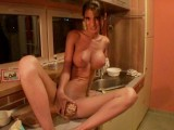 Thumb for Insane sex action on the kitchen table